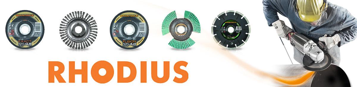 Отрезные диски Rhodius для цветных металлов